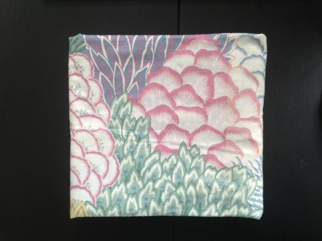 vintage flower fabric