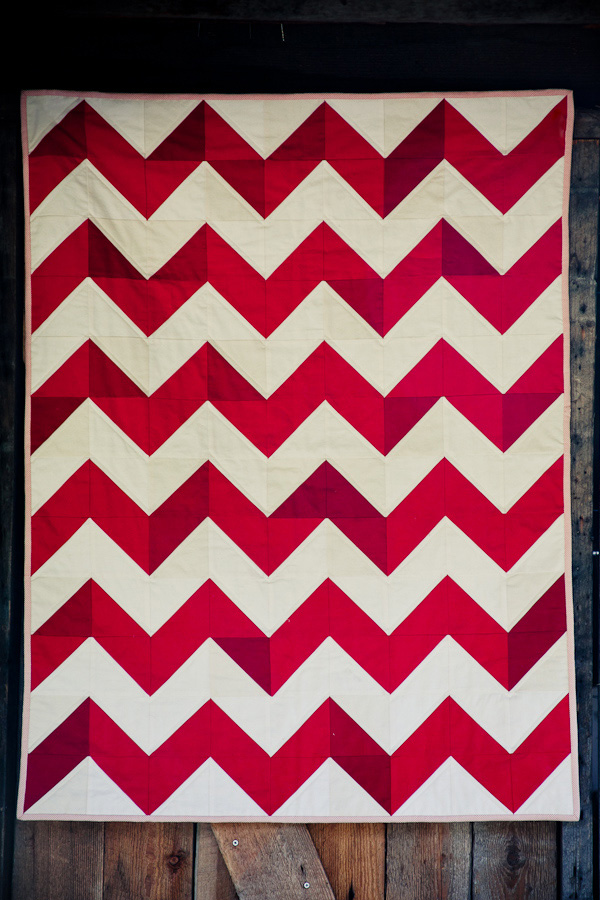 chevron quilt 6